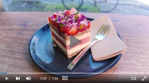 Strawberry Watermelon Cake from Backstair Pastry, Australia