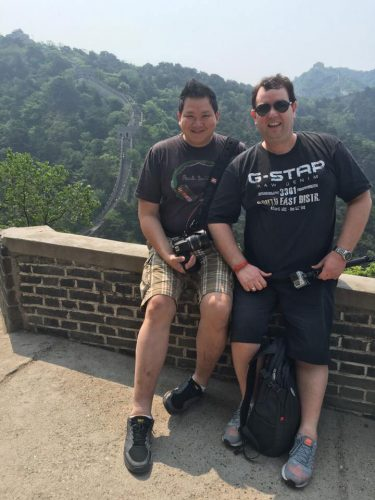 On the Great wall of China, Beijing