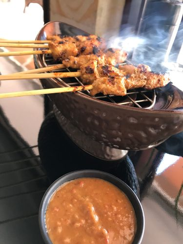 The Restaurant at The Legian Chicken Satay