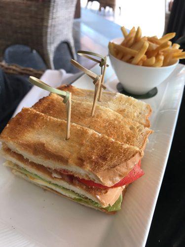 The Restaurant at The Legian Club Sandwich
