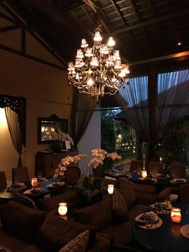 Sarong Dining area
