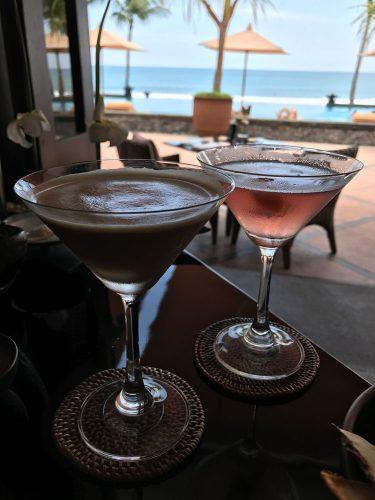 The Restaurant at The Legian Espresso Martini and Cosmo L'orange