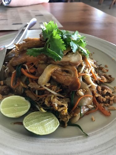 Restaurant at Alila Seminyak Kway Teow
