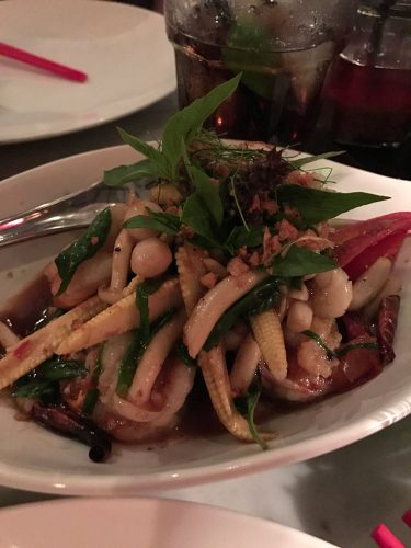 Stir fried prawns