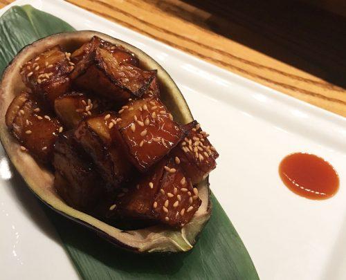 Nobu's Nasu (Eggplant) Miso