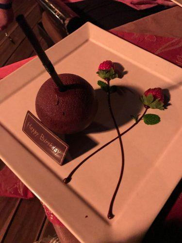 Dessert: Tout Guanaja Chocolate Mousse Drink