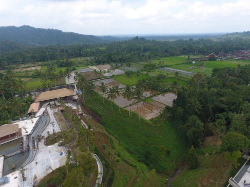 Secret Garden Village Drone Flying