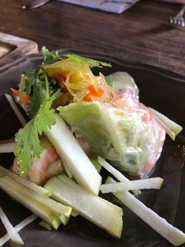 The Bistrot Vietnamese Spring Rolls