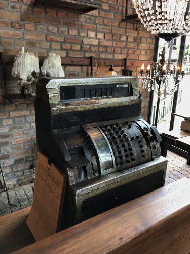 The Bistrot Vintage Cash Register