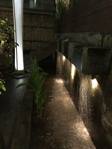 One of the waterfalls in Merah Putih
