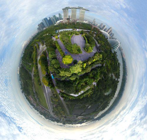 Tiny Planet Singapore