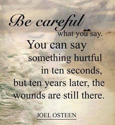 Words Hurt quote