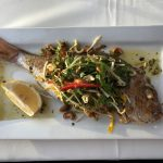 Doyles on the Beach Whole Baked Snapper