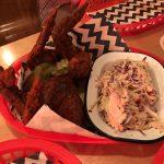 Belles Hot Chicken chicken wings really hot