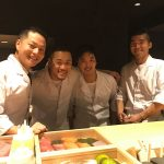 Sushi chefs: Chef Moon, Chef Sam, Chef Ken, Chef Yong