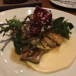 Dinner by Heston Blumenthal: Chicken Oyster dish