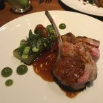 Dinner by Heston Blumenthal: Lamb cutlet dish. FATTY!