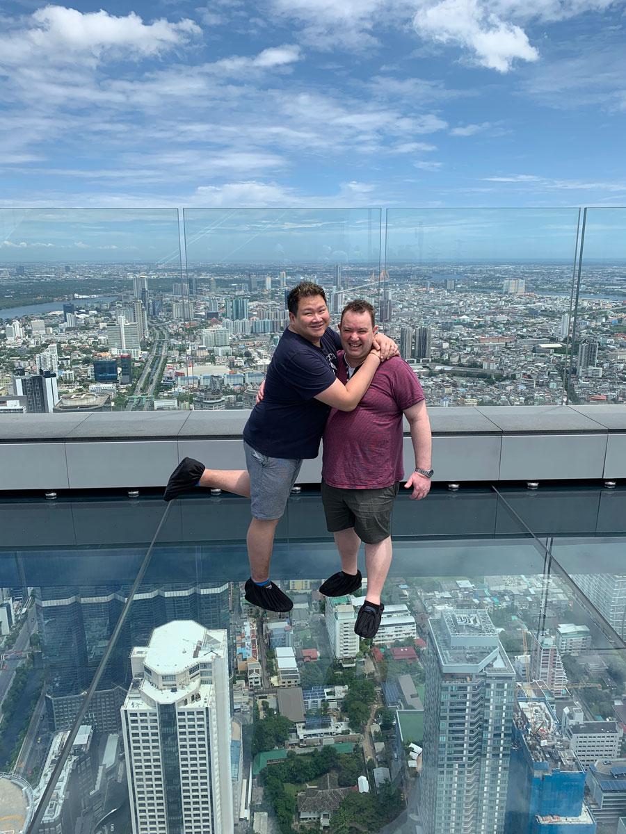Andre and Cameron Bangkok